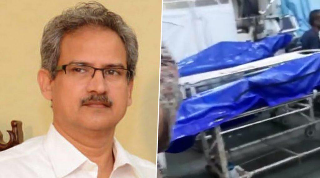 मुंबई: केईएम रुग्णालयातील कोरोना बाधित मृतदेहांच्या शेजारी अन्य रुग्णांवर उपचार होत असलेल्या व्हिडिओवर शिवसेना खासदार अनिल देसाई यांचे स्पष्टीकरण