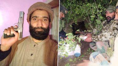 Jammu & Kashmir: भारतीय सैन्याचे मोठे यश; बडगाम येथील दहशतवादी तळ उद्धवस्त करून लष्कर ए तोयबा चा जहूर वानी याला अटक
