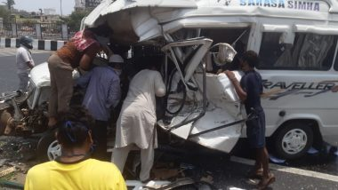 महाराष्ट्र: मुंबई-पुणे द्रुतगती महामार्गावर भीषण अपघात, 5 जण गंभीर जखमी