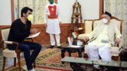 मजुरांसाठी देवदूत ठरलेला बॉलिवूड अभिनेता सोनू सूद ने घेतली राज्यपाल भगतसिंह कोश्यारी यांची भेट