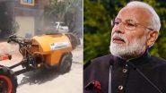 Maan Ki Baat: कोरोनाच्या पार्श्वभूमीवर सॅनिटायझर फवारणी मशीन बनवणाऱ्या नाशिकच्या शेतकरी राजेंद्र जाधव यांचे पंतप्रधान नरेंद्र मोदी यांच्याकडून कौतुक