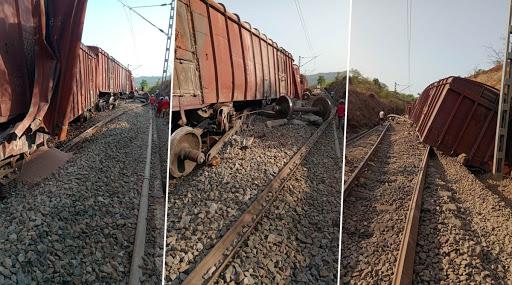 रत्नागिरी: खेड-दिवाणखवटी दरम्यान मालवाहतूक करणाऱ्या ट्रेनला अपघात; रुळावरून डबे घसरल्याने मोठं नुकसान
