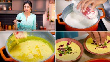 अभिनेत्री शिल्पा शेट्टी हिने रमजान ईद निमित्त आपल्या युट्यूब चॅनेलच्या माध्यमातून सांगितली खास 'फिरनी' रेसिपी, Watch Video