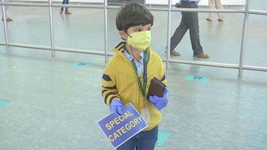 पाच वर्षाच्या मुलाने एकट्याने केला दिल्ली ते  बंगळूरू विमानप्रवास;  3 महिन्यांनी झाली आईची मुलाशी भेट!
