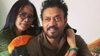 बॉलिवूड अभिनेता इरफान खान यांच्या निधनानंतर पत्नी सुतापा सिकदर झाली भावूक