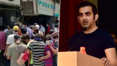 दारूच्या दुकानासमोरील गर्दी पाहून भारतीय क्रिकेट संघाचे माजी खेळाडू गौतम गंभीर भडकले; पाहा काय म्हणाले?