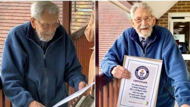 Bob Weighton, जगातील सर्वात वृद्ध व्यक्तीचं वयाच्या 112 व्या वर्षी निधन