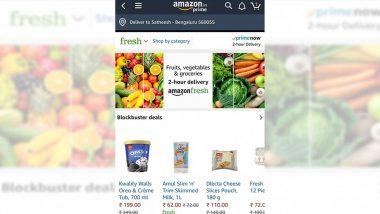 Amazon ने भारतामध्ये सुरु केली ऑनलाईन फूड डिलिव्हरी सेवा; Swiggy आणि Zomato ला देणार टक्कर
