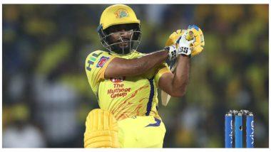 IPL 2020: CSKला धक्का! अंबाती रायुडू अजून एका सामन्याला मुकणार, फलंदाजाच्या दुखापतीवर सीईओ कासी विश्वनाथन यांनी दिला अपडेट