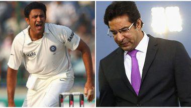 वसीम अक्रमने सांगितली 1999 दिल्ली टेस्ट सामन्यातली आठवण, अनिल कुंबळे कडून आऊट होण्यापूर्वी वकार युनुसला दिल्या 'या' सूचना