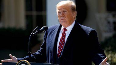 Coronavirus वर मात केल्यानंतर अमेरिकेचे राष्ट्राध्यक्ष Donald Trump यांनी दिले पहिले सार्वजनिक भाषण; समर्थकांचे मानले आभार