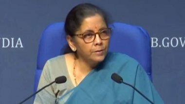 अर्थमंत्री निर्मला सीतारमण यांची दुपारी 3 वाजता पत्रकार परिषद