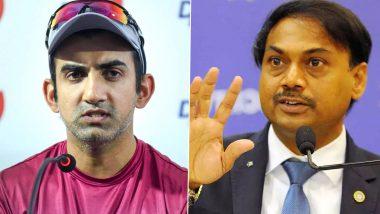 गौतम गंभीर, एमएसके प्रसाद यांच्यात टीम इंडिया निवड प्रक्रियेवरुन शाब्दिक युद्ध; गंभीरने अंबाती रायुडूच्या 2019 वर्ल्ड कप प्रकरणावरून केले टार्गेट