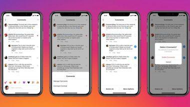 Instagram चे नवे फिचर; ट्रोलिंग कमेंट्स एकत्र डिलिट करता येणार, पाहा कसा कराल 'या' फिचरचा वापर