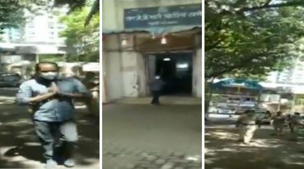 मुंबई: जेजे पोलीस स्थानकातील 3 कर्मचाऱ्यांचा कोरोनाशी यशस्वी लढा, कामावर पुन्हा रुजू होताना पाहून केली पुष्पवृष्टी (Watch Video)