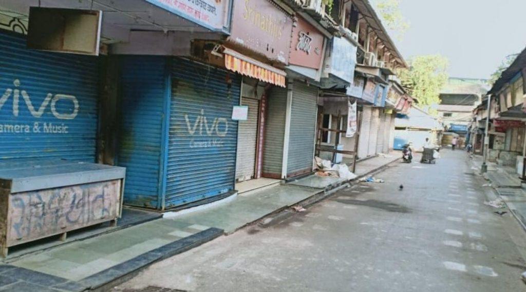 मुंबई: लालबाग परिसरात कोरोनाबाधितांचा आकडा वाढत असल्याने आजपासून 7 दिवस पूर्णपणे बंद