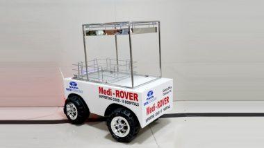 Made in Chandrapur: चंद्रपूर जिल्ह्यात Medi-Rover Robot करणार कोरोना व्हायरस संक्रमित रुग्णांची सेवा