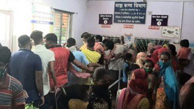 महाराष्ट्र: लॉकडाउनमुळे सिंधुदुर्ग येथे अडकलेल्या परप्रांतीयांची फिटनेस सर्टिफिकेट घेण्यासाठी रुग्णालयात गर्दी
