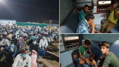 तेलंगणा: शहरात अडकलेल्या स्थलांतरित कामगार, यात्रेकरू, विद्यार्थ्यांसाठी लिंगमपल्ली के हटिया धावली विशेष ट्रेन; पहा व्हिडिओ