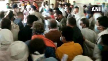 Coronavirus: पंतप्रधान मोदी यांच्या मंत्रिमंडळातील मंत्री नरेंद्र सिंह तोमर यांच्याकडून सोशल डिस्टन्सींग धाब्यावर, लॉकडाऊन नियमांचे उल्लंघन करत तोबा गर्दी (Video)