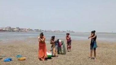 पालघर: समुद्रावर शिंपल्या काढण्यासाठी गेलेल्या महिलांना पोलिसांनी दिली उठाबश्या काढण्याची शिक्षा, व्हिडिओ सोशल मीडियात व्हायरल