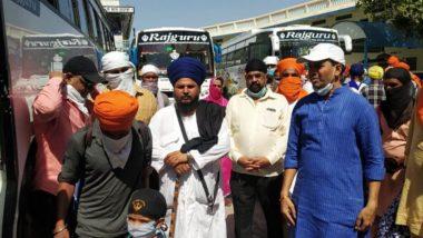 महाराष्ट्र सरकार कडून नाशिक येथे अडकलेल्या 130 यात्रेकरुंची बसच्या माध्यमातून पंजाब मध्ये पाठवणी, 14 दिवसांचा क्वारंटाइनचा सल्ला