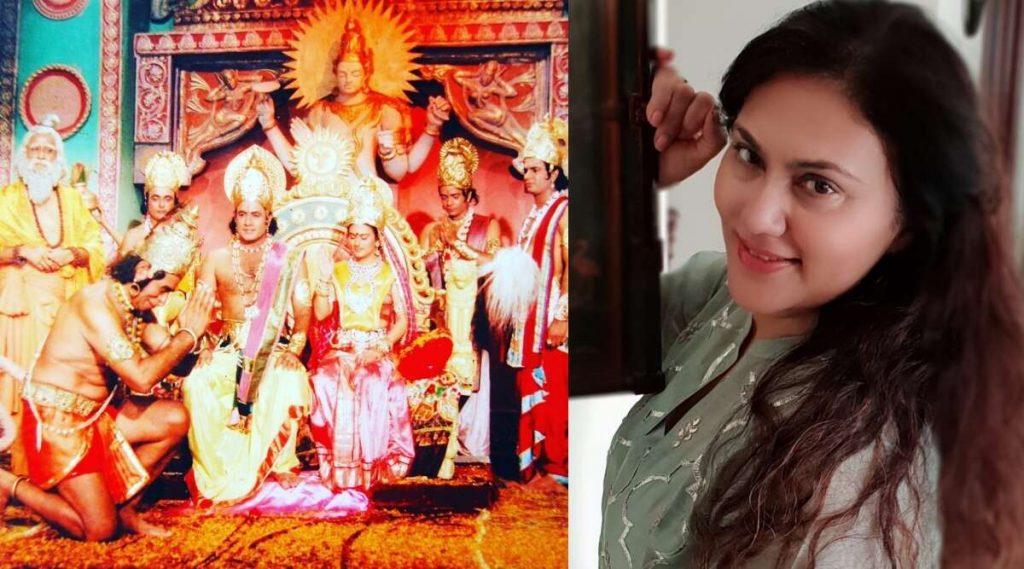 रामायण कार्यक्रमाच्या टीमला पद्म पुरस्कारने सन्मानित करण्याची सीताची भुमिका साकारणाऱ्या दीपिका चिखलिया हिची सरकारकडे मागणी