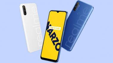 Realme Narzo 10A चा सेल फ्लिपकार्ट आणि Realme.com वर सुरु;  पहा किंमत आणि फिचर्स