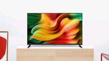 Realme Smart TV लॉन्च, किंमत फक्त 12,999 रुपयांपासून सुरु