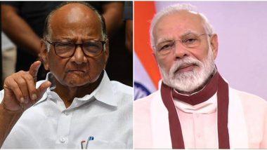 Lockdown: शरद पवार यांचे पंतप्रधान नरेंद्र मोदी यांना पत्र, बांधकाम व्यावसायिकांच्या कर्जाचं पुनर्गठन करण्याची मागणी