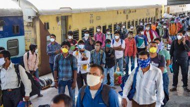 Lockdown: 527 ट्रेनने 7 लाख 38 हजार परप्रांतीय कामगार मूळ राज्यात परतले; पाहा मुंबई, ठाणे, पुणे, कोल्हापूर, सातारा, औरंगाबाद, नागपूर शहरांतून किती सुटल्या विशेष श्रमिक ट्रेन