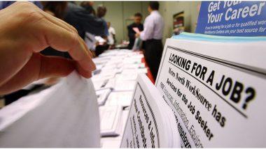 अमेरिकामध्ये बेरोजगारीचा दर एप्रिलमध्ये 14.7 टक्क्यांपर्यंत पोहोचला, कोरोना महामारीमुळे 20.5 लाख रोजगार नष्ट