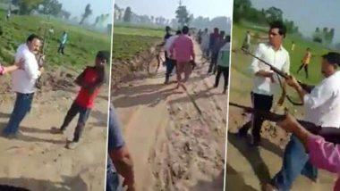 उत्तर प्रदेश समाजवादी पक्षाचे नेते छोटे लाल दिवाकर आणि मुलगा सुनील यांची गोळ्या घालून हत्या; सोशल मीडियावर व्हिडीओ व्हायरल
