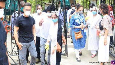 आमिर खान, राणी मुखर्जी, किरण राव स्पॉटबॉय अमोस पॉल च्या अंतिम दर्शनाला (पहा फोटोज)