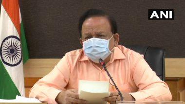 Coronavirus in India: देशातील कोरोना व्हायरस रुग्णांचा रिकव्हरी रेट 29.9% तर मृत्यू दर 3.3% - केंद्रीय आरोग्यमंत्री डॉ. हर्ष वर्धन