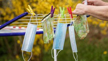 Covid 19 चा संसर्ग टाळण्यासाठी वापरलेले मास्क Disinfect कसे कराल? जाणून घ्या मास्क स्वच्छ करण्याची योग्य पद्धत
