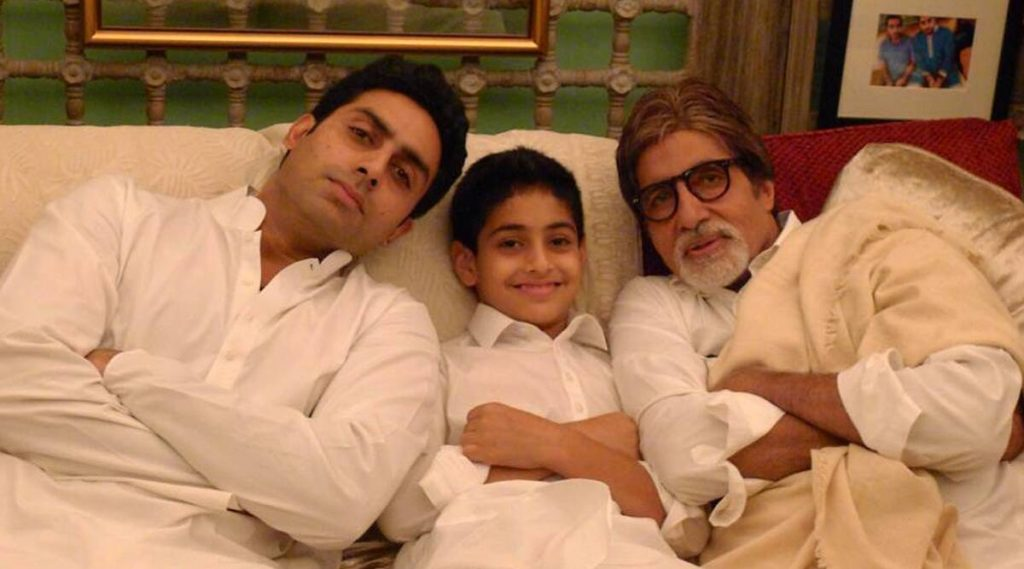 अमिताभ बच्चन यांनी कुटुंबातील 3 पिढ्यांचा फोटो शेअर करत ताज्या केल्या जून्या आठवणी (See Pic)