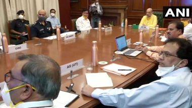Nisarga Cyclone संबंधित गृहमंत्री अमित शाह यांनी घेतली NDMA च्या अधिकाऱ्यांसह महत्वाची बैठक