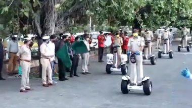 मुंबई: मरीन ड्राईव्ह येथे सेगवे सिस्टमचे गृहमंत्री अनिल देशमुख यांच्या हस्ते उद्घाटन
