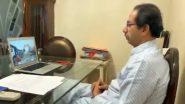 नागपूरजवळील आदासा येथील कोळसा खाणीचे मुख्यमंत्री उद्धव ठाकरे यांच्या हस्ते ऑनलाईन उद्घाटन