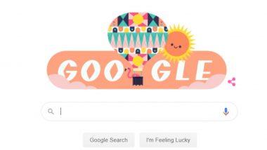 Summer Season Google Doodle: यंदाच्या ग्रीष्म ऋतूच्या स्वागतासाठी गूगलने साकारलं कलरफूल डुडल!