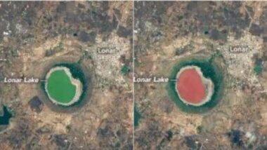 NASA ने टिपलं बुलढाण्यातील लोणार सरोवराच्या हिरव्या ते गुलाबी रंगातील रूप; जाणून घ्या पाण्याचा रंग बदलण्यामागे काय असू शकतात शक्यता