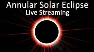 Surya Grahan 2020 Free Live Streaming Online: मुंबई, पुणे सह भारत भरातील सूर्यग्रहणाचं इथे पहा थेट प्रक्षेपण