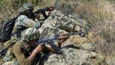 Terrorist Killed In Budgam: जम्मू-काश्मीरमधील बडगामच्या कावूस खलिसा भागात संयुक्त कारवाईत एका दहशतवाद्याचा खात्मा