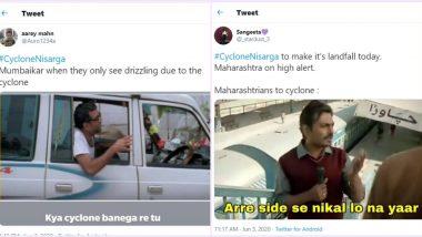 मुंबईवरील निसर्ग चक्रीवादळाचा धोका टळल्यानंतर सोशल मीडियात धम्माल मीम्स व्हायरल!
