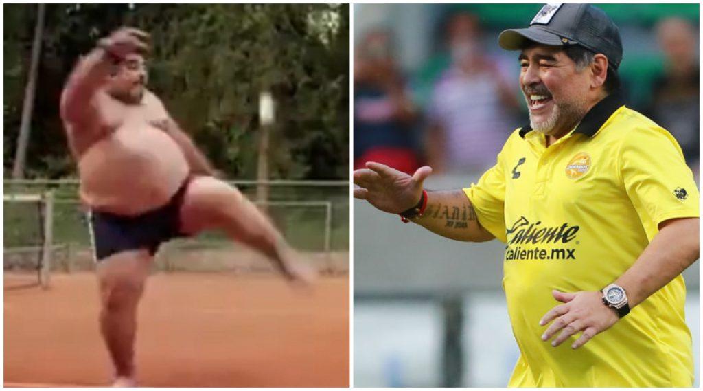 Fact Check: अर्जेन्टिनाचा माजी फुटबॉलर डिएगो माराडोना याच्या Body Transformation च्या व्हायरल व्हिडिओ मागील सत्य जाणून घ्या