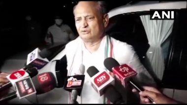 Rajasthan Plotical Crisis: मुख्यमंत्री अशोक गहलोथ यांच्याकडून राज्यपालांना नवे पत्र; अधिवेशन बोलावण्याची मागणी, बहुमत सिद्ध करण्याबाबत उल्लेख नाही