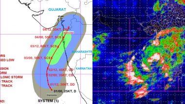 Nisarga Cyclone Tracker: अरबी समुद्रात 3 जून पर्यंत तीव्र होणार चक्रीवादळ; पहा 'निसर्ग' चक्रीवादळाच्या प्रवासाच्या प्रत्येक दिवसाचे अंदाज