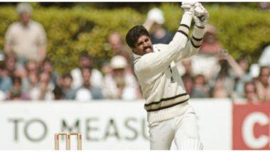 On This Day in 1983: आजच्या दिवशी कपिल देव यांनी भारताकडून पुरुष वर्ल्ड कपमध्ये झळकावले होते पहिले वनडे शतक, झिम्बाब्वेविरुद्ध खेळला 175 धावांचा शानदार डाव