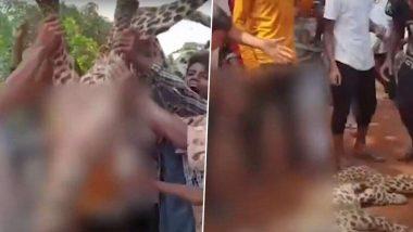 Animal Cruelty: आसाम मध्ये चित्त्याला मारहाण करून निर्घृण हत्या; निर्दयी लोकांनी त्याच्या शवासोबत काढली परेड (Watch Video)